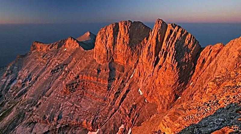 Гора олимп в греции фото