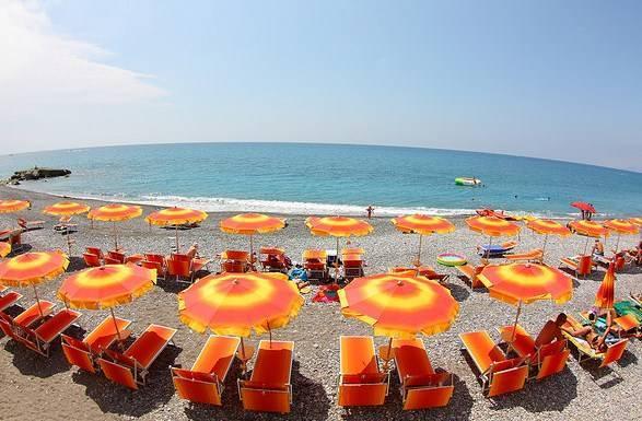 Пляжи италии фото