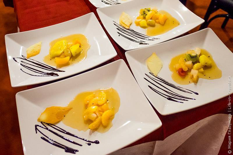 Губчатый итальянский десерт