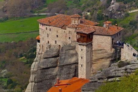 Монастырский комплекс метеоры греция
