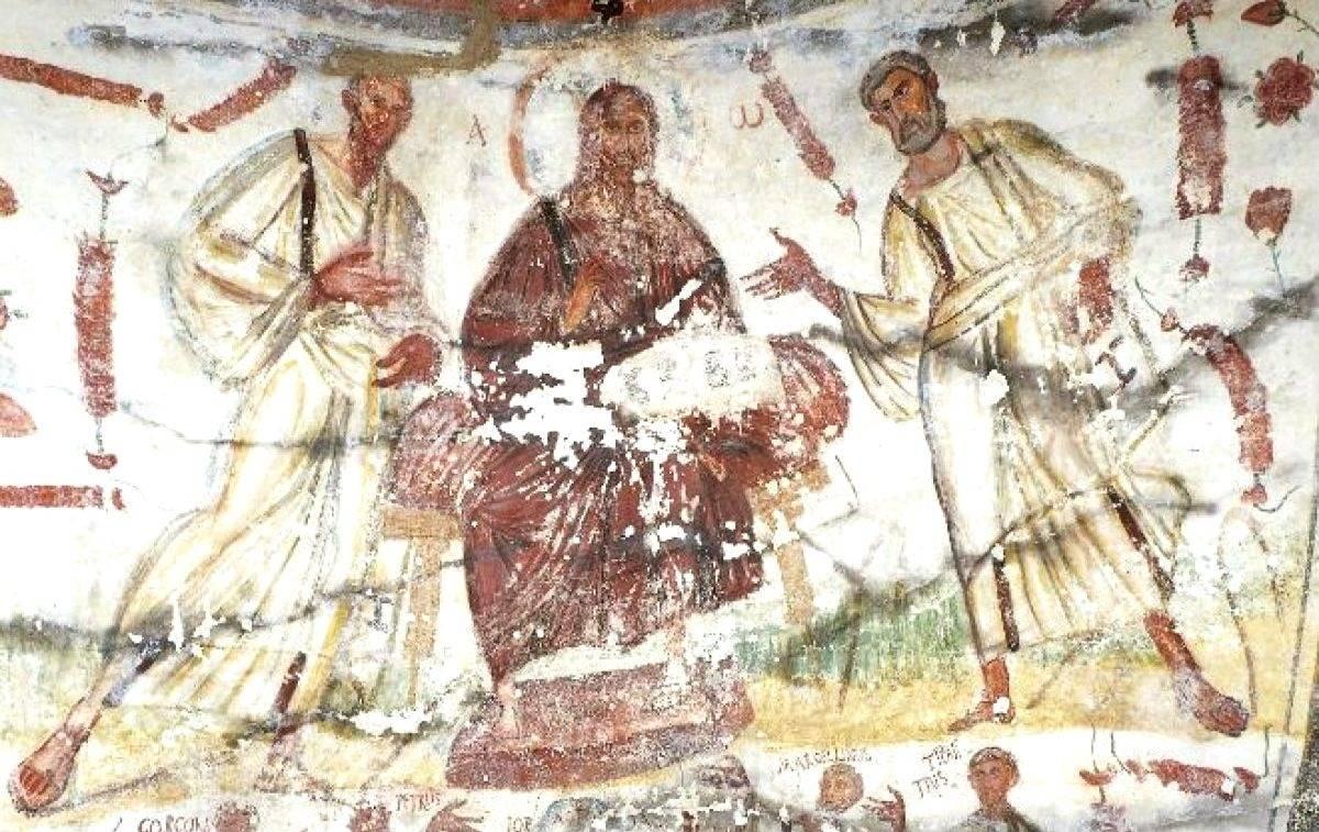 Римские катакомбы искусство первых христиан