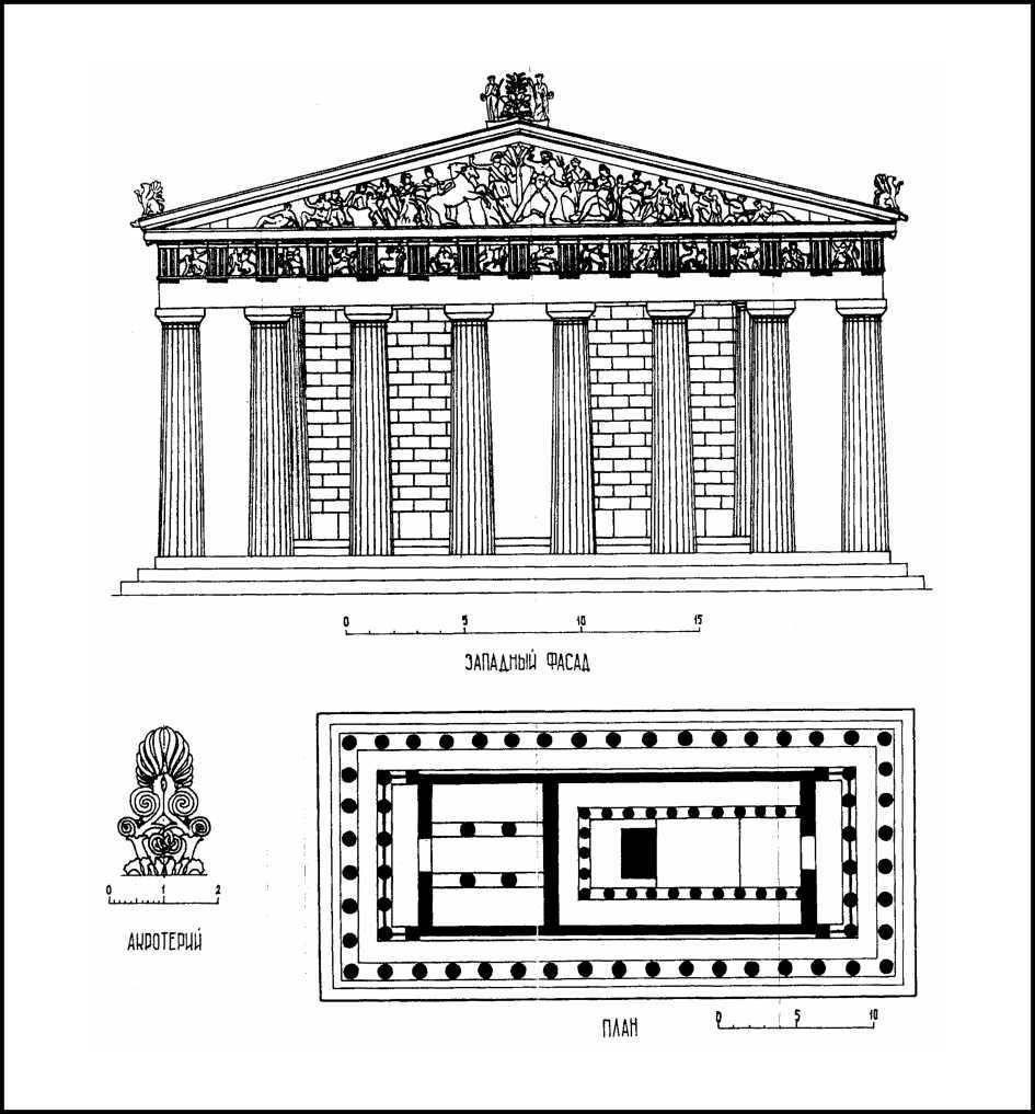 Особенности античной архитектуры