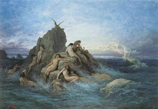 Богиня воды в древней греции