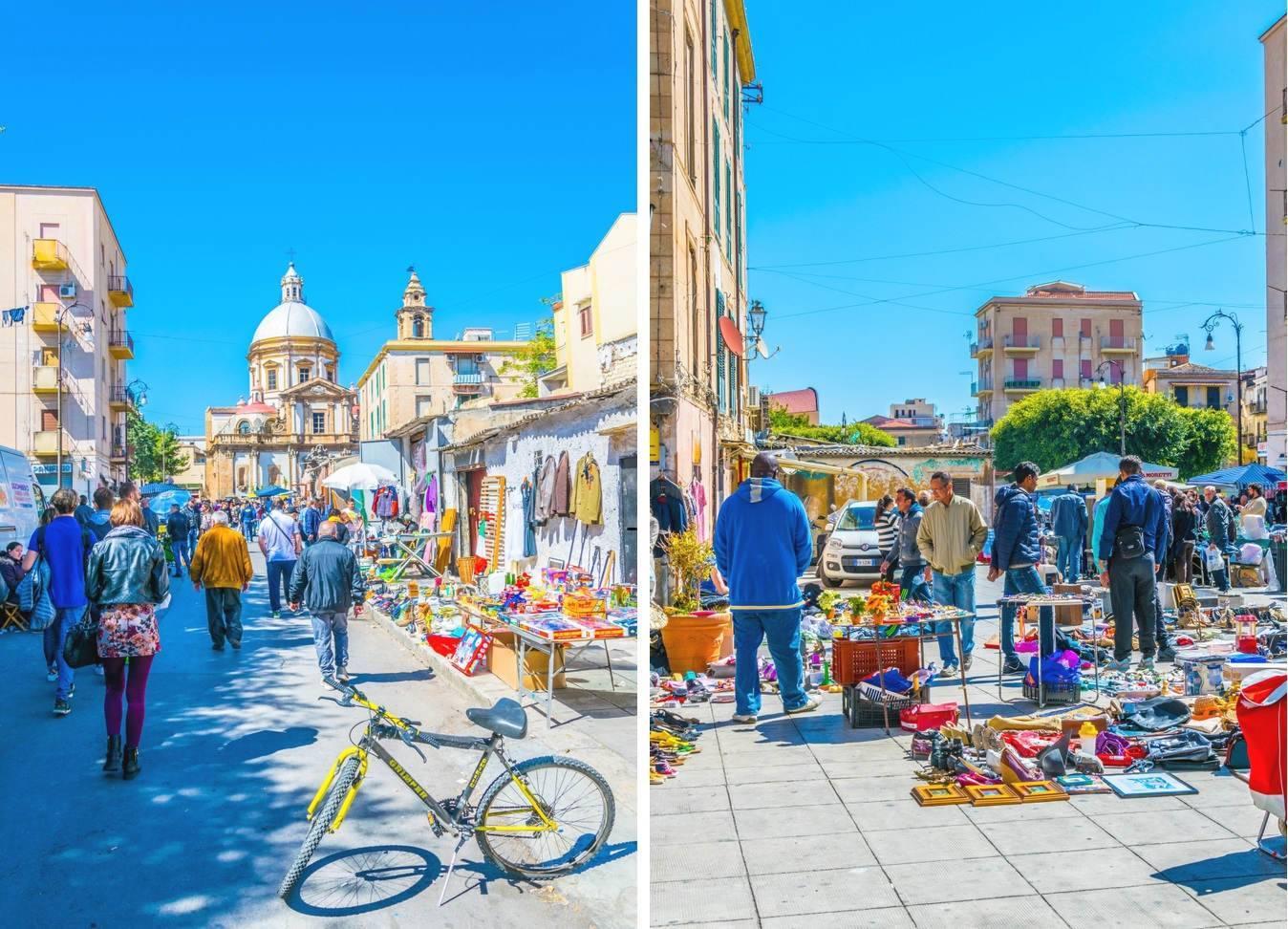 Блошиный рынок в бергамо