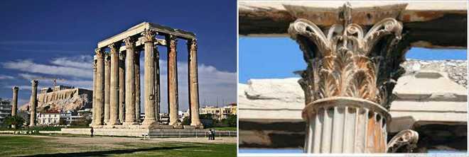 Архитектура древних афин