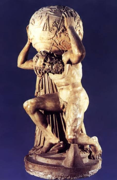 Статуи греческих богов