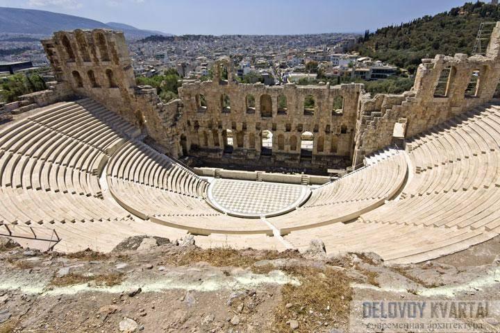 Элементы греческой архитектуры