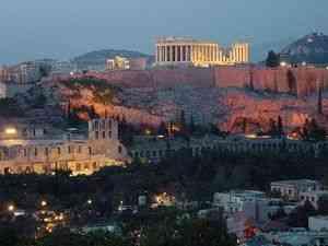 Древний город афины