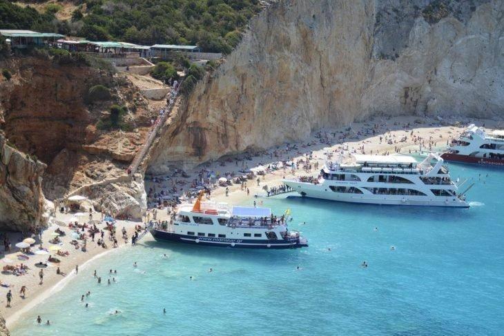 Курортный остров в составе греции