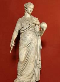 Древнегреческая муза истории