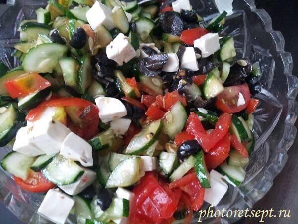 Сыр для греческого салата фетакса