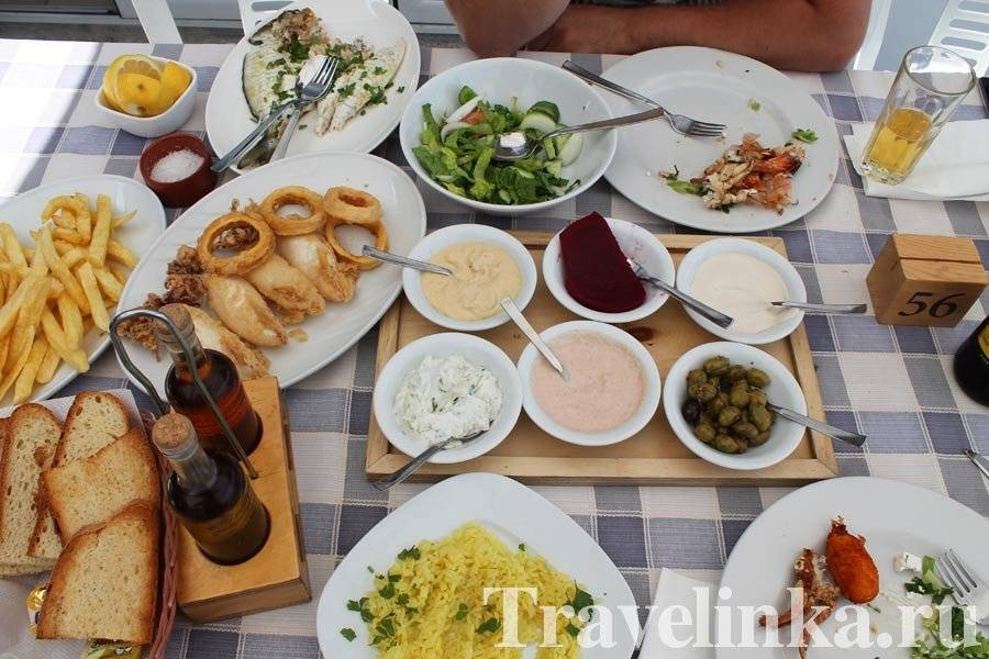 Блюда национальной кухни греции