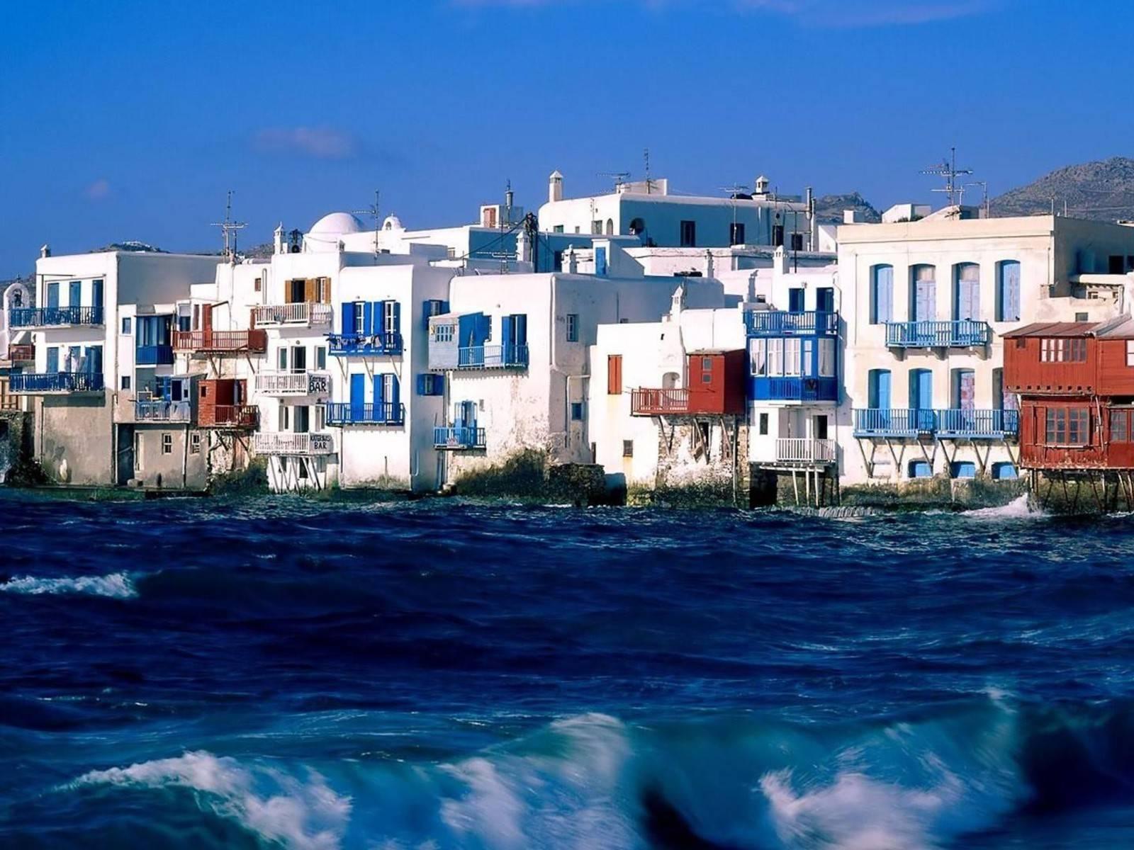 Остров миконос греция на карте
