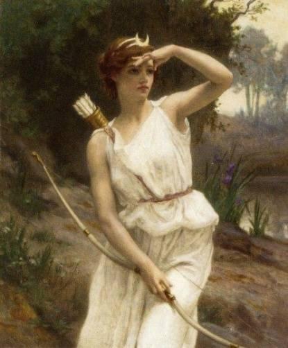 Богиня литературы в древней греции