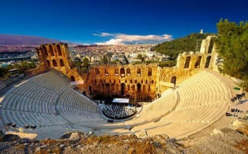 Театр эпидавра в греции
