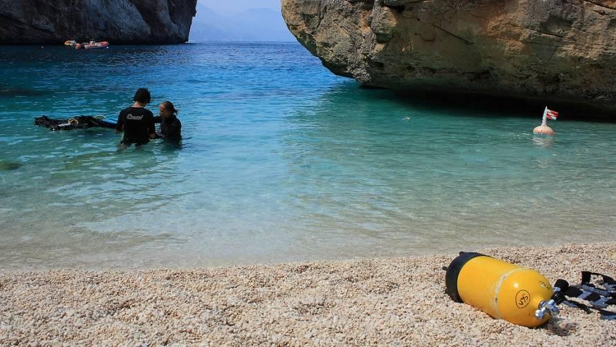 Пляжи сардинии с белым песком