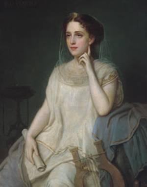 Богиня эрато
