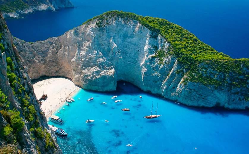 Греция в январе куда поехать