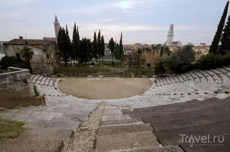 Театры вероны италия