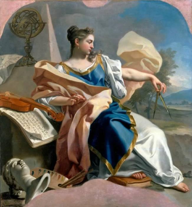 Богиня поэзии