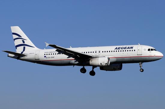 Греческая авиакомпания aegean