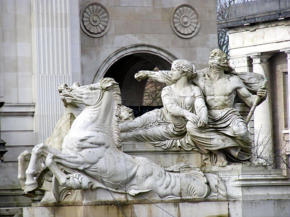 Атрибуты древнегреческих богов таблица