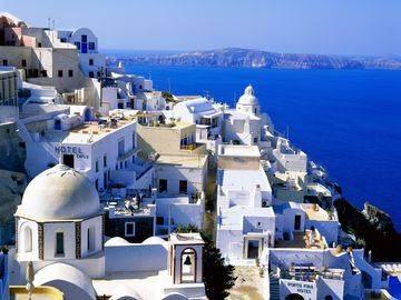 Санторини греция погода по месяцам