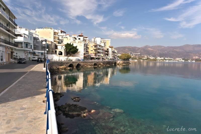 Крит какое море омывает