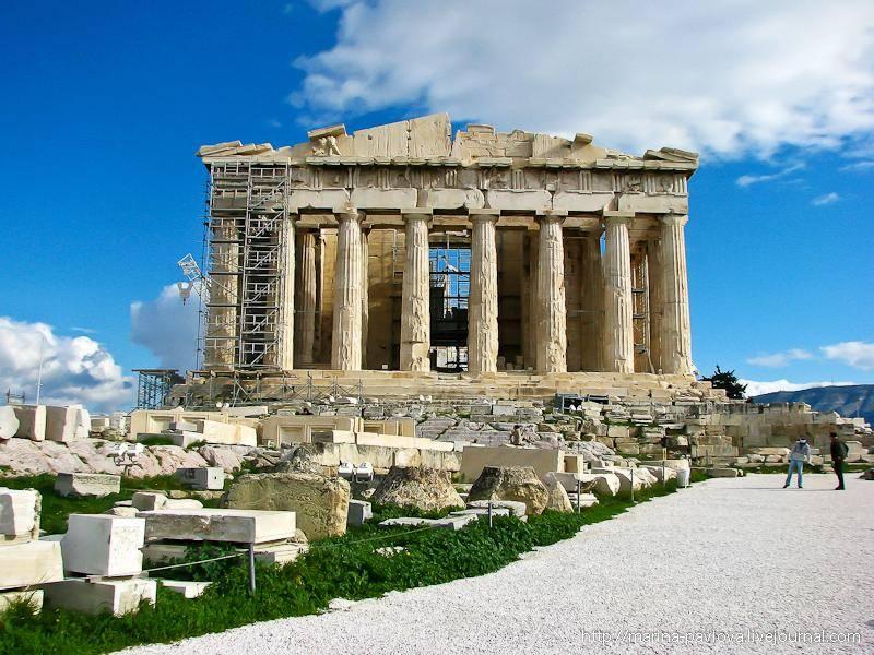 Какое море находится в греции