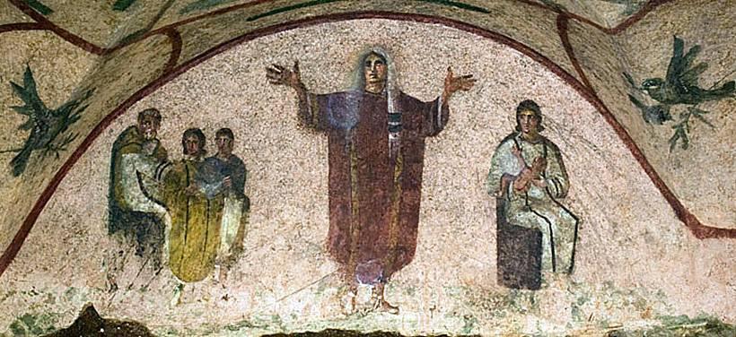 Основные христианские символы из римских катакомб
