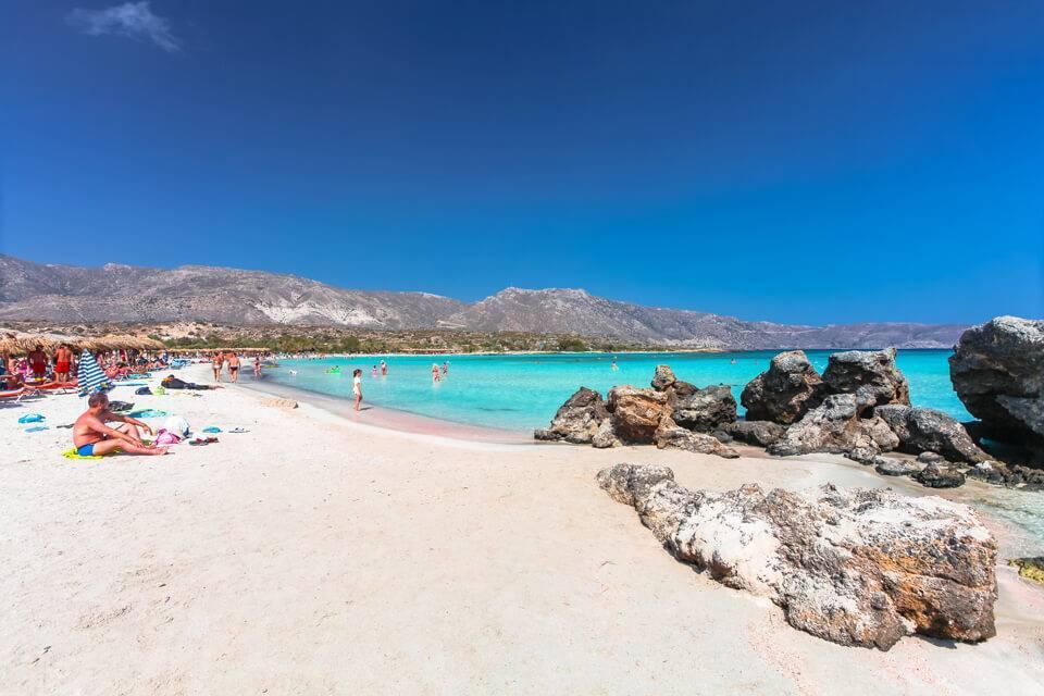Лучшие пляжи крита на карте