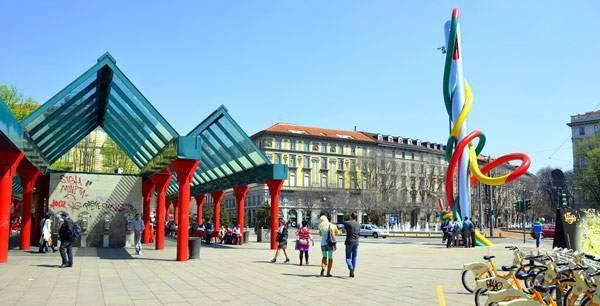 Milano porta garibaldi на карте