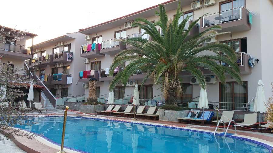 Simeon hotel 3 халкидики ситония метаморфоси