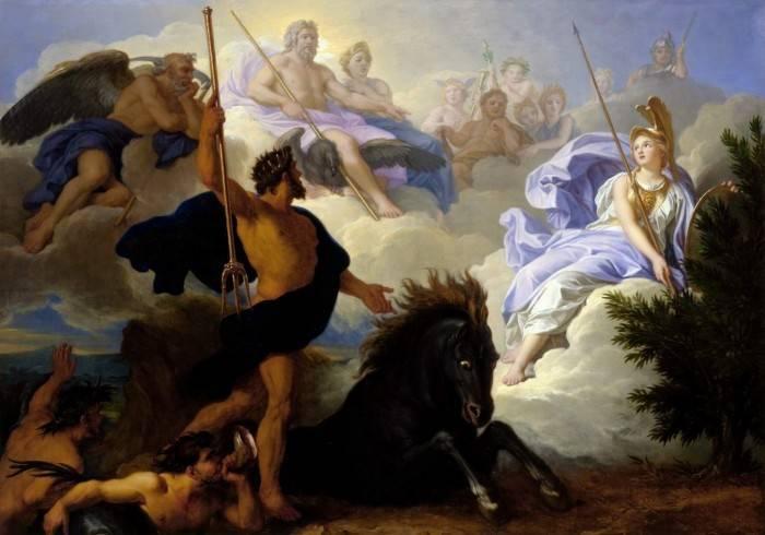 Древнегреческие боги список имен и значений