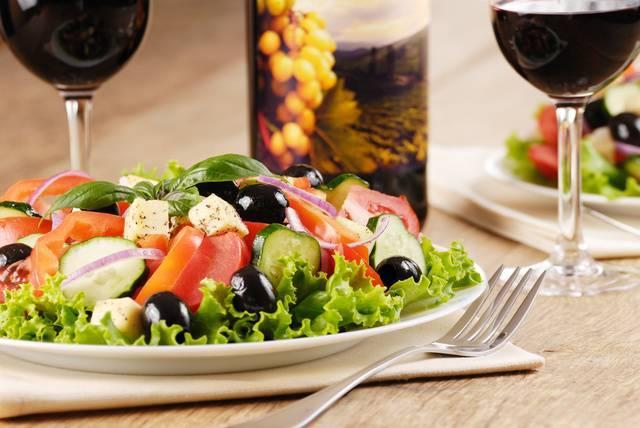 Еда древних греков