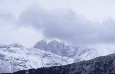 Афины зимой фото
