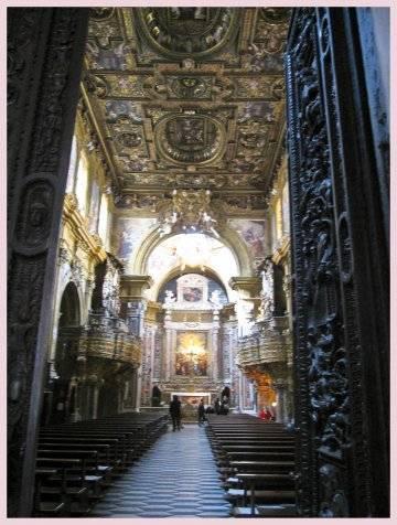 Церковь сан грегорио армено в неаполе