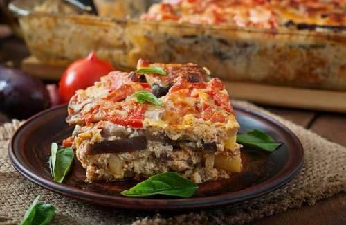 Мусака рецепт классический с картошкой и баклажанами
