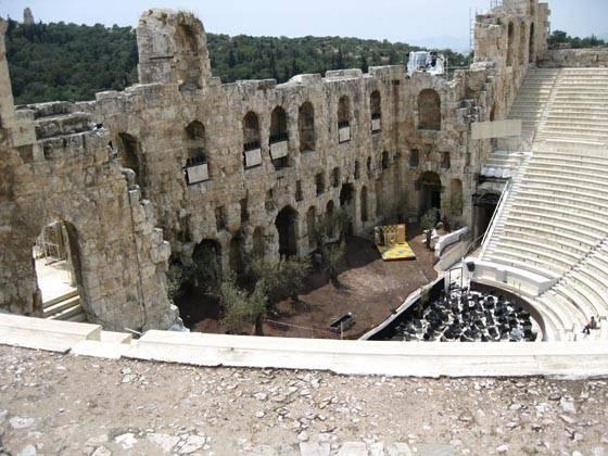Афинский акрополь греция