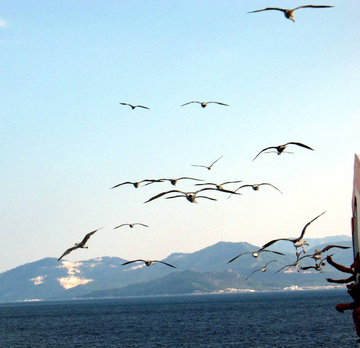 Греция в конце октября