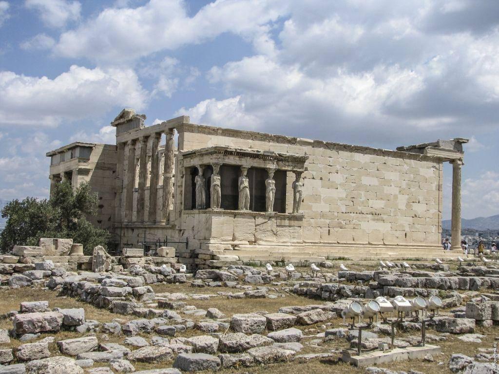 Парфенон в афинах фото