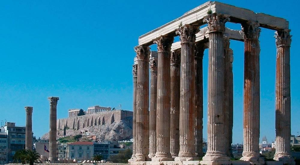 Святилище зевса в олимпии