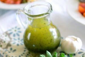 Заправка к греческому салату рецепт классический