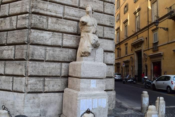 Площадь навона италия