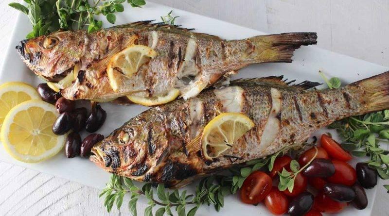 Треска по гречески в духовке