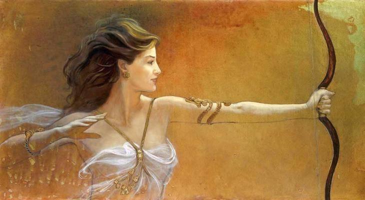 Мифические богини